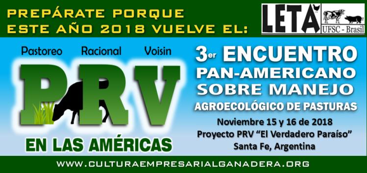 III Encuentro PRV Argentina 2018 (arte de CEG Colombia)