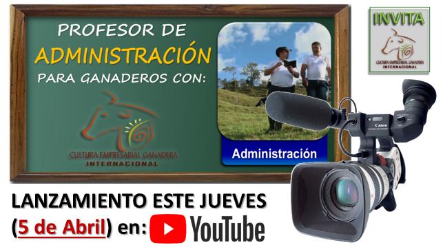 Lanzamiento Prof Administración Abril 2018