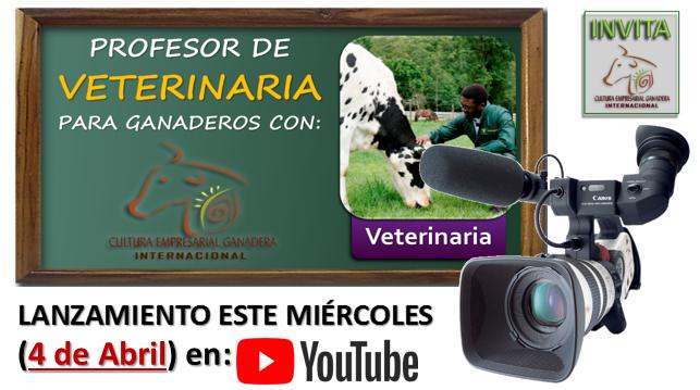 Lanzamiento Prof Veterinaria Abril 2018