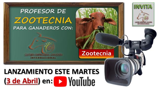 Lanzamiento Prof Zootecnia Abril 2018