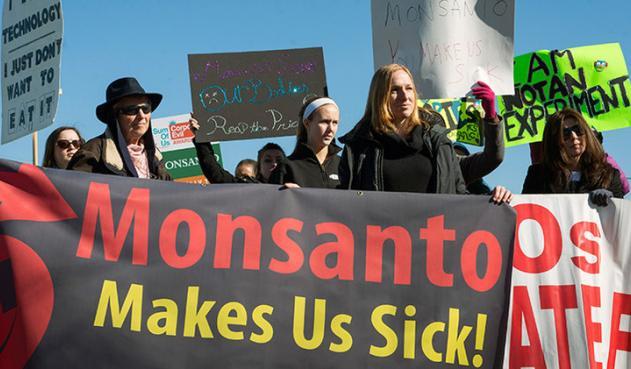 Monsanto nos enferma - protestas (la FM)